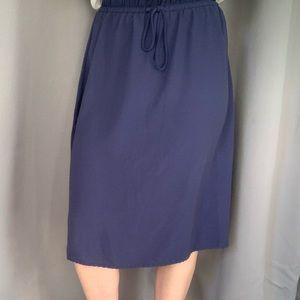 3 for $30 • Faded Glory Blue Drawstring Skirt